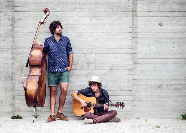 Unplugged Straßenmusik mit: The Streetles